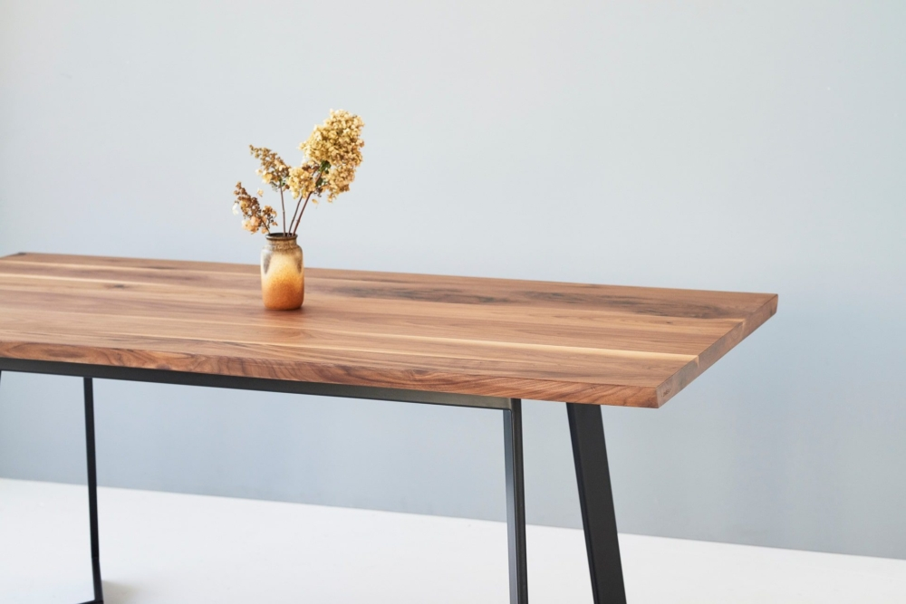 american walnut table, american walnut table top