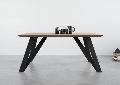 Stół rozkłany st10, stół dębowy rozkładany, stół industrialny rozkładany