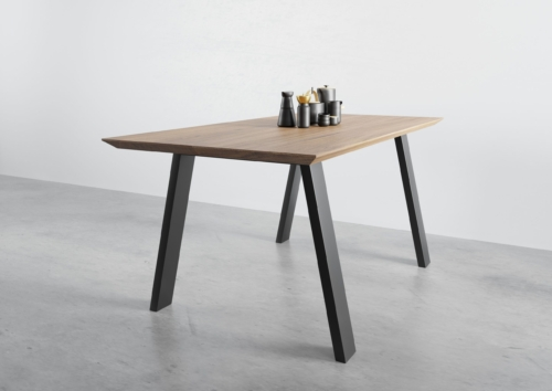 stół St1 smreki, stół minimalistyczny, stół na czarnych nogach , stół do małego mieszkania, stół do kawalerki, designerski stół ,