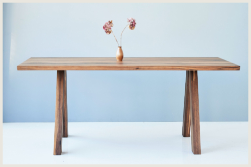 modern dining table american walnut