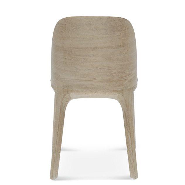 fameg arch a-1801, jasne krzesło, krzesło tapicerowane szare, drewniane krzesło do salonu, krzesła do salonu, krzesło do jadalni, krzesła do jadalni, nowoczesne krzesło, drewniane krzesło. dębowe krzesło,