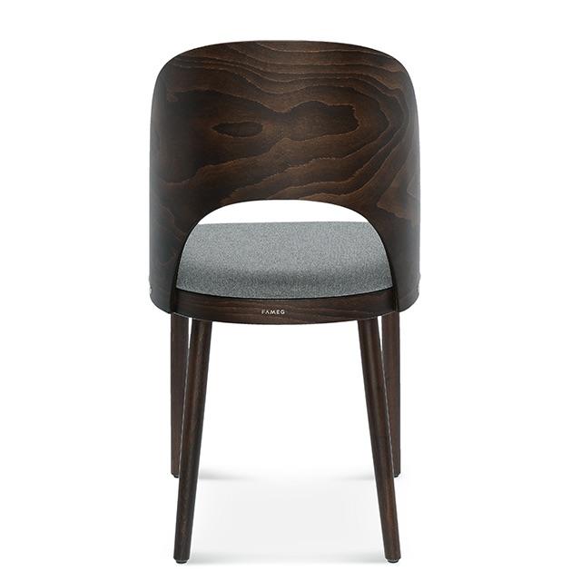 fameg avola a-1411, krzesło do jadalni, krzesło do salonu, krzesła do jadalni, ciemne krzesło, krzesło tapicerowane, krzesła drewniane, krzesła dębowe, krzesła do jadalni, krzesło tapicerowane szare, 1