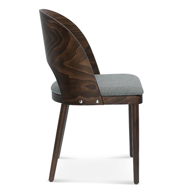 fameg avola a-1411, krzesło do jadalni, krzesło do salonu, krzesła do jadalni, ciemne krzesło, krzesło tapicerowane, krzesła drewniane, krzesła dębowe, krzesła do jadalni, krzesło tapicerowane szare, 2