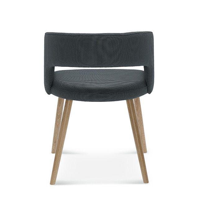 fameg cube b-1523, tapicerowane krzesło do salonu, taicerowane krzesła do salonu, szare krzesło do jadalni, szare krzesła do jadalni, nowoczesne krzesło, nowoczesne krzesła, fotel do jadalni, fotel do saolnu, 3