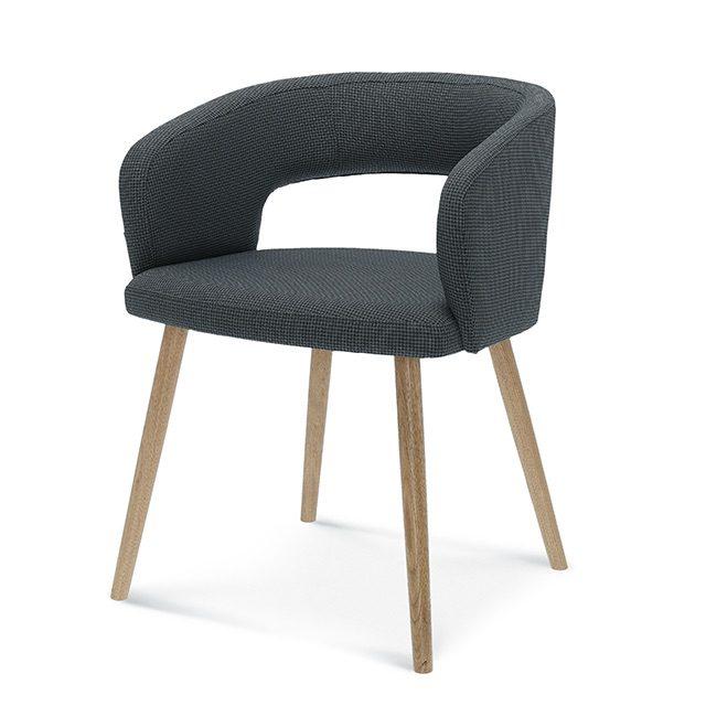 fameg cube b-1523, tapicerowane krzesło do salonu, taicerowane krzesła do salonu, szare krzesło do jadalni, szare krzesła do jadalni, nowoczesne krzesło, nowoczesne krzesła, fotel do jadalni, fotel do saolnu,