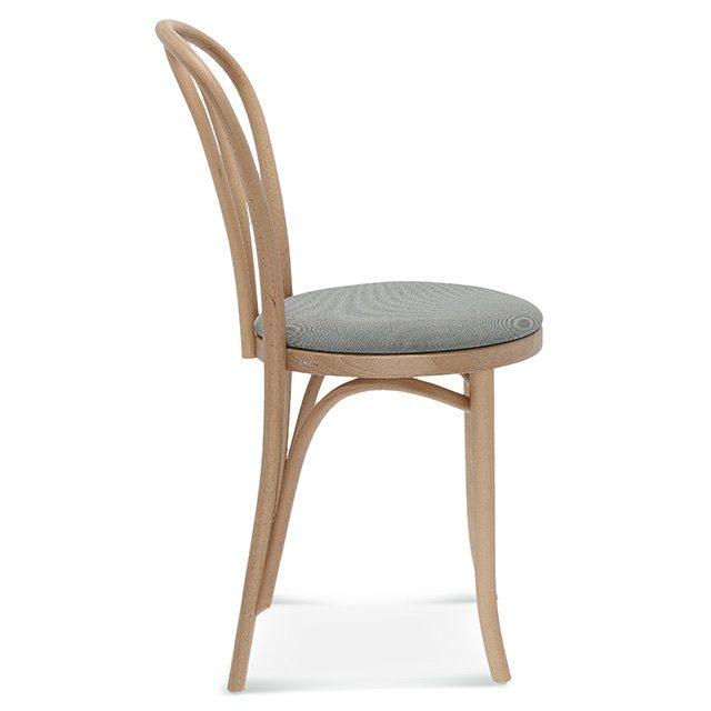 klasyczne krzesło a-18, fameg tradycyjne krzesło gięte bok