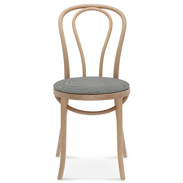 klasyczne krzesło a-18, fameg tradycyjne krzesło gięte przód