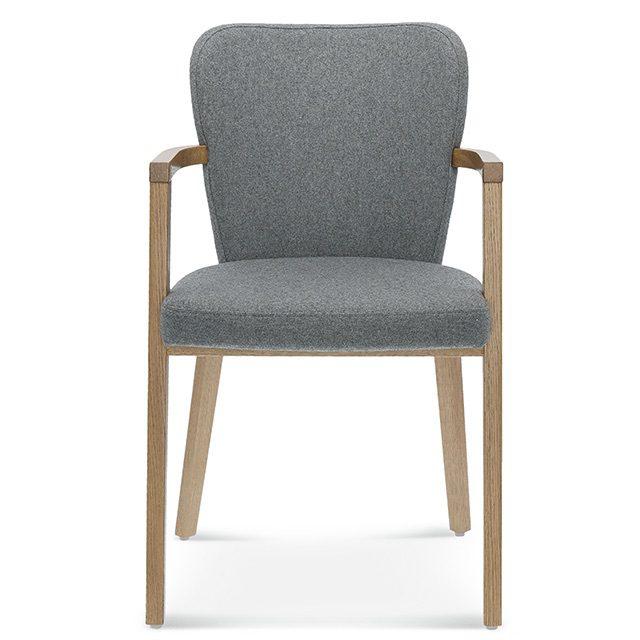 fameg lava b-1807, tapicerowane krzesło szare, nowoczesne krzesło do salonu, krzesła do salonu, szare krzesło do jadalni, krzesła do jadalni, krzesła fameg, dębowe krzesła, debowe krzeslo, fameg poznań