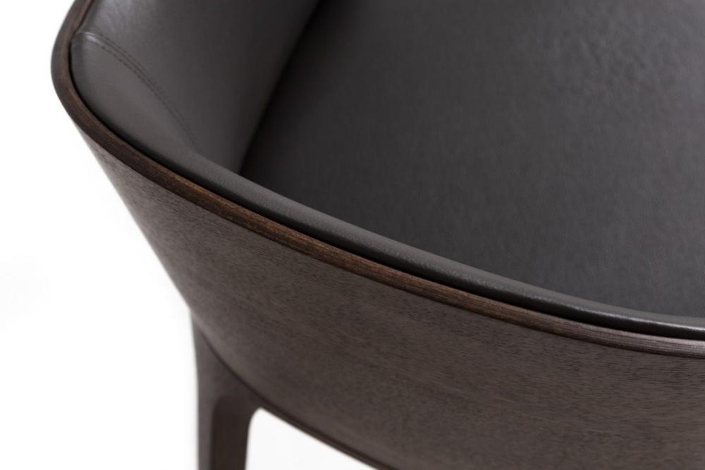 Krzesła i fotele fameg, Krzesło Fameg Arch-A1801, fotel fameg Arch B-1801 ciemny
