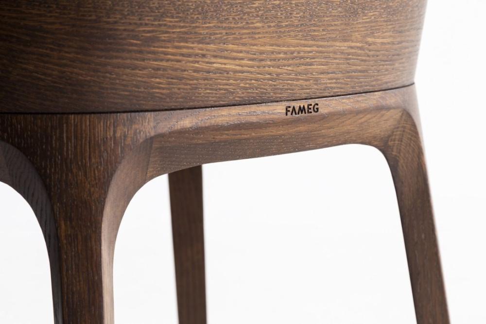 Krzesła i fotele fameg, Krzesło Fameg Arch-A1801, fotel fameg Arch B-1801.