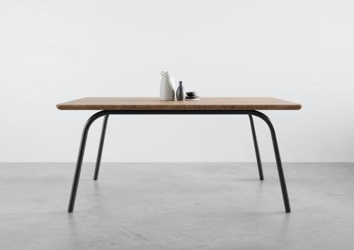 ST13 OVO, stół do jadalni, deļowy stół, nowoczesny stół do salonu, stół 180 cm 160 cm 140 cm, stół na 4 nogach, funkcjonalny stół, dębowy stół, jesionowy stół, rozkładany stół, powiększany stóła, producent stołów