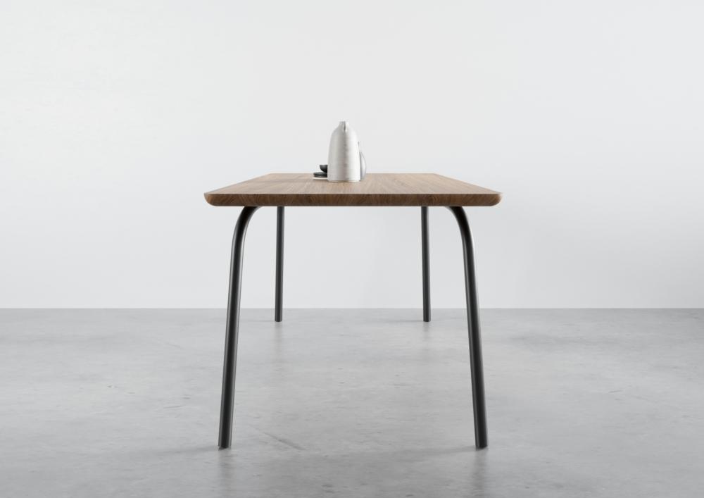 ST13 OVO, stół jadalniany, stół rozkładany, producent stołów, stoły do salonu, dębowe stoły, dębowy stół, prakjtyczny stół, zaokrąglona krawędź, stół 160 cm 180 cm 140 cm, stół zaokrąglona krawedź, zaokrąglona